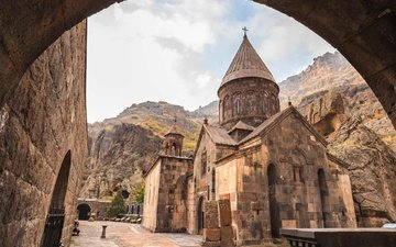temple, church, armenia, hayastan, vanq, geghard