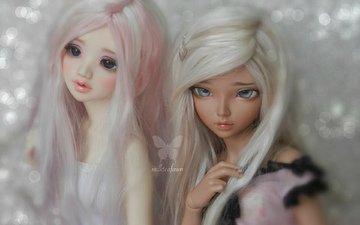 hair, toys, doll