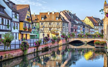 the city, home, france, colmar