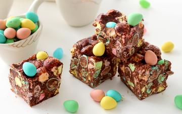 candy, chocolate, sweet, dessert, cake, pills, chocolate eggs