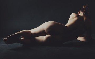 girl, pose