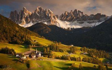 mountains, nature, italy, alps, peak, south tyrol, the dolomites, daniel rericha