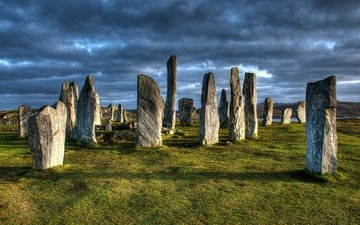 stones, scotland, callanish, megalith, the isle of lewis