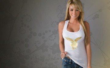 блондинка, модель, джинсы, актриса, плейбой, aктриса, sara jean underwood