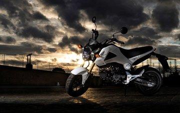 мотоцикл, байк, хонда