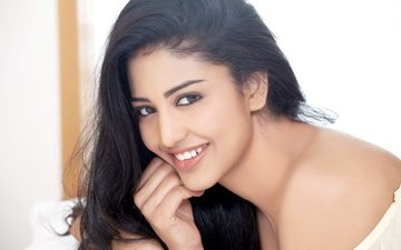girl, smile, brunette, model, hair, lips, face, actress, makeup, bollywood, indian, daksha nagarkar