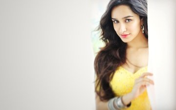 girl, pose, brunette, model, hair, face, actress, bollywood, indian, shraddha kapoor, sraddha kapoor