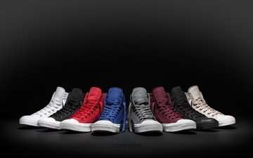 style, sneakers, black background, shoes, converse, all-star, chuck taylor