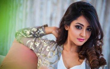 girl, look, hair, face, actress, makeup, indian, aindrita ray