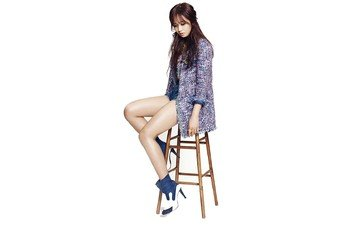 girl, music, chair, model, sitting, feet, asian, photoshoot, long hair, girls' generation, kwon yuri