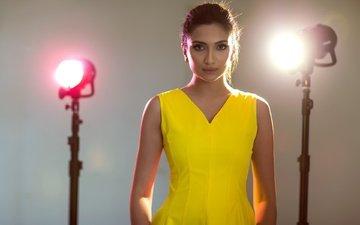 свет, девушка, поза, брюнетка, модель, актриса, индийская, roshmitha harimurthy, рошмита харимурти