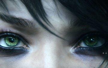 глаза, девушка, взгляд, игра, лицо, ubisoft, дичь, beyond good & evil 2