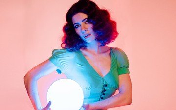 girl, look, hair, face, singer, marina and the diamonds, marina diamandis lambrini
