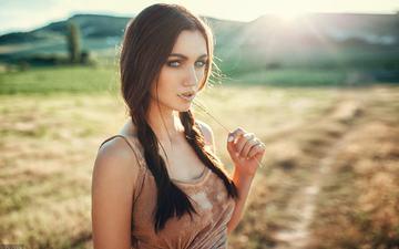girl, look, model, hair, face, kate, evgeny freyer