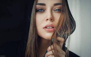 глаза, девушка, портрет, модель, волосы, губы, лицо, тоня, evgeniy freyer