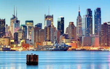 usa, new york, new jersey, weehawken