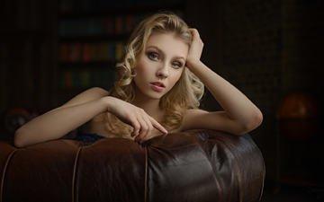 девушка, блондинка, модель, лицо, позирует, алиса тарасенко, сергей fat
