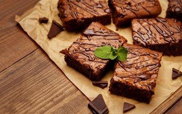 шоколад, сладкое, украшение, выпечка, торт, десерт, пироженое