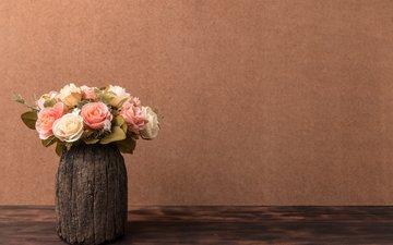 цветы, обои, розы, букет