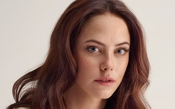 girl, portrait, face, brown hair, kaya scodelario