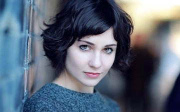girl, portrait, look, face, actress, celebrity, tuppence middleton