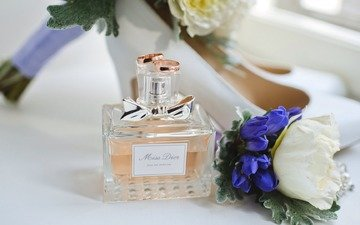 ring, wedding, diamond, decoration perfume