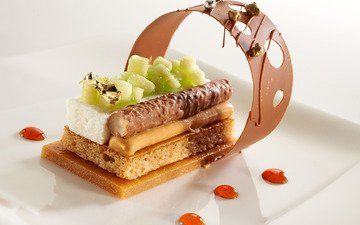 ice cream, food, fruit, chocolate, dessert, treat