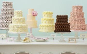 свадьба, праздник, украшение, торт, десерт, крем, тортики