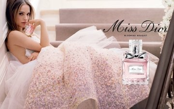 girl, actress, perfume, natalie portman, miss dior, advertising