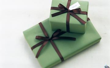 подарки, коробки