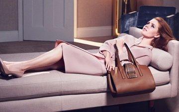 girl, actress, photoshoot, coat, bag, amy adams
