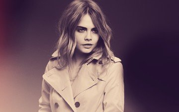 girl, portrait, model, hair, actress, photoshoot, celebrity, cara delevingne