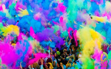 mood, people, colorful, paint, holiday, holi, festival, the festival of holi
