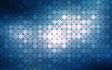 свет, абстракция, форма, круги, блеск, геометрия