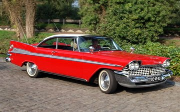 america, red, usa, car, plymouth sport fury