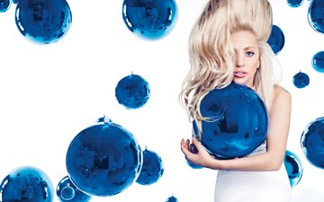 balls, girl, look, hair, face, glamour, photoshoot, lady gaga