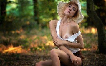 красавица, сексапильная, nipple slip, boob