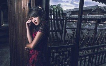 look, model, makeup, asian