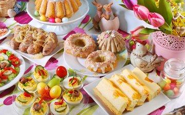 пасха, яйца, пирог, кулич, закуски, teresa kasprzycka