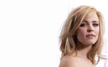 blonde, look, actress, rachel mcadams