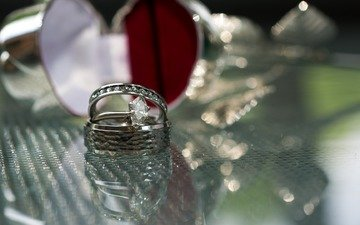 macro, shine, ring, decoration, jewel