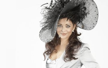 model, actress, aishwarya rai, hat