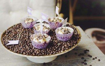 десерт, кексы, кексики