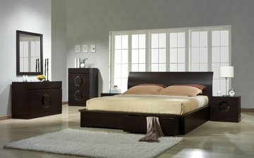 interior, bed, furniture, bedroom