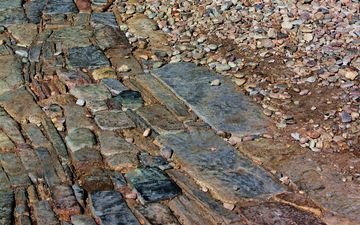 stones, texture, background, track, the sidewalk, cobblestone