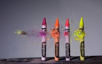 colorful, pencils, colored, bullet, color, microsemi, crayons