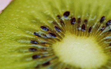 фрукты, киви, крупным планом