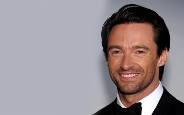 smile, look, actor, face, male, hugh jackman, celebrity