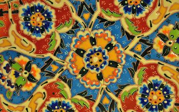 design, color, mosaic, tile, fractal, symmetry, ceramics, kaleidoscope