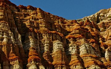 the sky, nature, mountain, canyon, ca, relief, national park, red canyon